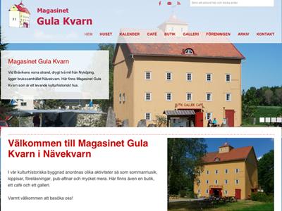 Vi presenterar vår nya hemsida!