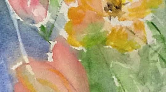 Akvarellkurs med Lena Ekman 17-18 augusti 2019
