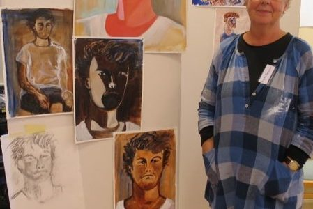 Utställning Konst med Birgitta Fredander
