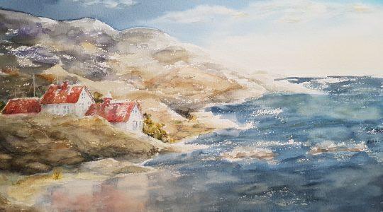 Utställning Akvareller med Karin Mattsson 27 juli - 2 augusti 2019